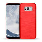 Handy Hülle für Samsung Galaxy S8 Plus Case im Brushed Look