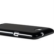 Handy Hülle für Sony Xperia E3 Backcover im metallischen Brushed Look