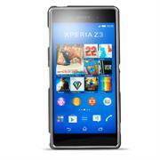 Brushed Silikonhülle für Sony Xperia Z3 Plus Schutzhülle Cover im gebürstetem Design Metallic Look