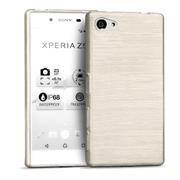 Handy Hülle für Sony Xperia Z5 Compact Case Backcover im Brushed Look