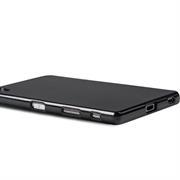 Brushed Silikonhülle für Sony Xperia Z5 Premium Schutzhülle Cover im gebürstetem Design Metallic Look