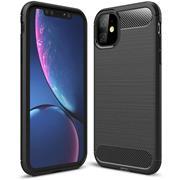 TPU Hülle für Apple iPhone 11 Handy Schutzhülle Carbon Optik Schutz Case