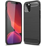 TPU Hülle für Apple iPhone 12 / 12 Pro Handy Schutzhülle Carbon Optik Schutz Case
