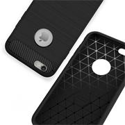 Handy Hülle für Apple iPhone 6 Plus / 6S Plus Backcover Carbonstil