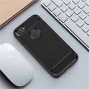 Handy Hülle für Apple iPhone 7 Backcover Case im Carbon Design