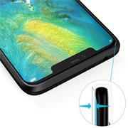 Schutzhülle für Huawei Mate 20 Pro Dünn Matt Schwarz Handy Case Cover Hülle