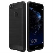 Handy Hülle für Huawei P10 Lite Backcover Case im Carbon Design