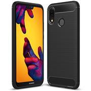 Schutzhülle für Huawei P20 Lite Dünn Matt Schwarz Handy Case Cover Hülle