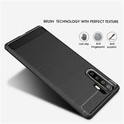 Handy Hülle für Huawei P30 Pro Backcover Case im Carbon Design