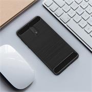 Hülle Carbon für Nokia 6 Schutzhülle Handy Case Hybrid Cover
