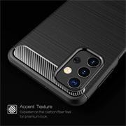 TPU Hülle für Samsung Galaxy A52 5G Handy Schutzhülle Carbon Optik Schutz Case