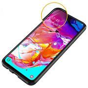 TPU Hülle für Samsung Galaxy A70 / A70s Handy Schutzhülle Carbon Optik Schutz Case