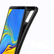 Handy Hülle für Samsung Galaxy A9 2018 Backcover Case im Carbon Design