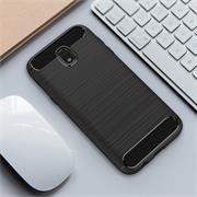 Handy Hülle für Samsung Galaxy J5 2017 Backcover Case im Carbon Design