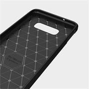 TPU Hülle für Samsung Galaxy S10e Handy Schutzhülle Carbon Optik Schutz Case