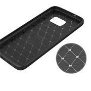 Schutzhülle für Samsung Galaxy S7 Edge Dünn Matt Schwarz Handy Case Cover Hülle