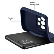 Silikon Handyhülle für Samsung Galaxy A52 / A52 5G / A52s 5G Hülle mit Kartenfach Slim Case