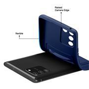 Silikon Handyhülle für Samsung Galaxy S10 Lite Hülle mit Kartenfach Slim Wallet Case