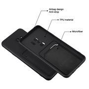 Silikon Handyhülle für Samsung Galaxy S9 Hülle mit Kartenfach Slim Wallet Case