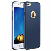 Ultra Slim Cover für Apple iPhone 7 Hülle in Blau + Panzerglas Schutz Folie