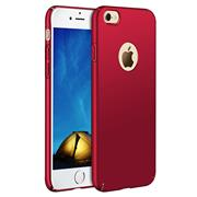 Ultra Slim Cover für Apple iPhone 7 Plus Hülle in Rot + Panzerglas Schutz Folie