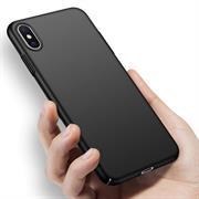 Classic Schutzhülle für Apple iPhone XS Max Hülle Slim Dünn Hardcase mit samtig-weicher Beschichtung