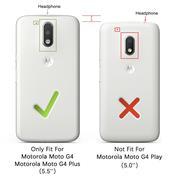 Classic Hardcase für Motorola Moto G4 / G4 Plus Hülle Slim Cover Matt Schutzhülle