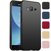 Classic Hardcase für Samsung Galaxy J3 2016 Hülle Slim Cover Matt Schutzhülle