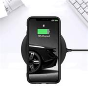 Silikon Hülle für Apple iPhone 11 Pro Schutzhülle Matt Schwarz Backcover Handy Case