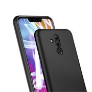 Matte Silikon Hülle für Huawei Mate 20 Lite Backcover Handy Case