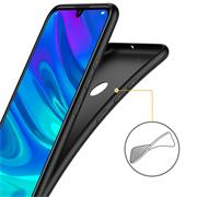 Matte Silikon Hülle für Huawei P Smart Plus 2019 Backcover Handy Case