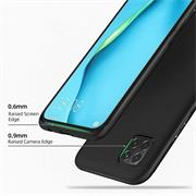 Silikon Hülle für Huawei Y5p Schutzhülle Matt Schwarz Backcover Handy Case