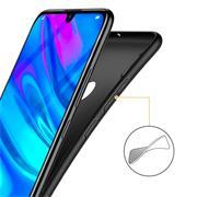 Matte Silikon Hülle für Huawei Y7 2019 Backcover Handy Case