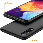 Matte Silikon Hülle für Samsung Galaxy A50 Backcover Handy Case