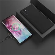 Matte Silikon Hülle für Samsung Galaxy Note 10 Plus Backcover Handy Case