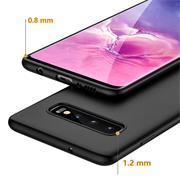 Matte Silikon Hülle für Samsung Galaxy S10 Plus Backcover Handy Case