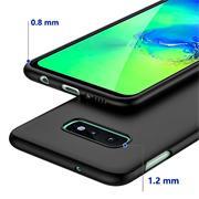 Matte Silikon Hülle für Samsung Galaxy S10e Backcover Handy Case