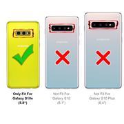 Silikon Hülle für Samsung Galaxy S10e Schutzhülle Matt Schwarz Backcover Handy Case