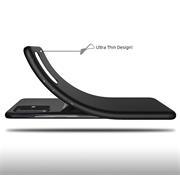Silikon Hülle für Samsung Galaxy S20 Schutzhülle Matt Schwarz Backcover Handy Case