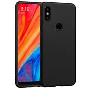 Matte Silikon Hülle für Xiaomi Mi Mix 2s Backcover Handy Case