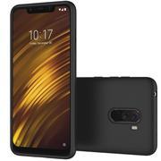 Matte Silikon Hülle für Xiaomi Pocophone F1 Backcover Handy Case