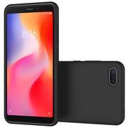 Matte Silikon Hülle für Xiaomi Redmi 6a Backcover Handy Case