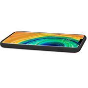 Handy Hülle für Huawei Mate 30 Pro Soft Case mit innenliegendem Stoffbezug