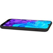 Handy Hülle für Huawei Y5 2019 Soft Case mit innenliegendem Stoffbezug
