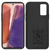 Handy Hülle für Samsung Galaxy Note 20 Soft Case mit innenliegendem Stoffbezug
