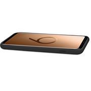 Handy Hülle für Samsung Galaxy S9 Soft Case mit innenliegendem Stoffbezug
