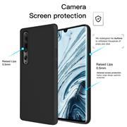 Handy Hülle für Xiaomi Mi 10 / Mi 10 Pro Soft Case mit innenliegendem Stoffbezug