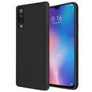 Handy Hülle für Xiaomi Mi 9 SE Soft Case mit innenliegendem Stoffbezug