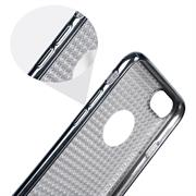 Glamour Schutzhülle Backcover für Apple iPhone 6 Plus / 6S Plus Silikon Case im Bling Design Rahmen