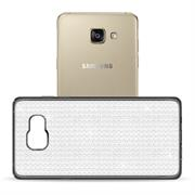 Glamour Schutzhülle Backcover für Samsung Galaxy A3 2016 Silikon Case im Bling Design Rahmen